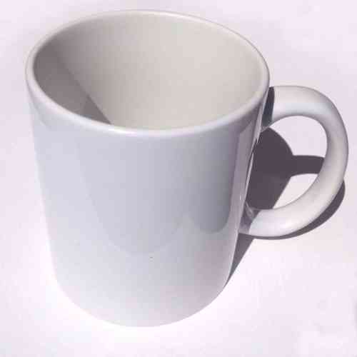3D customized white mug