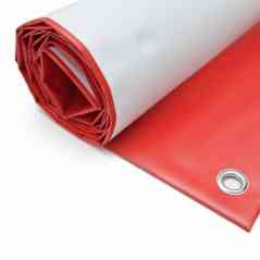 PVC banners with rings