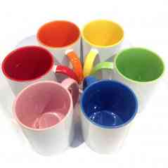 3D customized colored mug