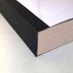 Binding with plastic spiral